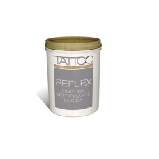 FINITURA VETRIFICANTE LUCIDA INCOLORE REFLEX - PITTURA TATTOO J COLORS 1LT