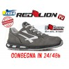 SCARPA ANTINFORTUNISTICA UPOWER REDLION KICK S3 SRC PUNTA ALLUMINIO U-POWER