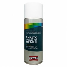 SMALTO SPECIALE PER METALLI BOMBOLETTA SPRAY VERDE MUSCHIO RAL6005 400ML AREXONS